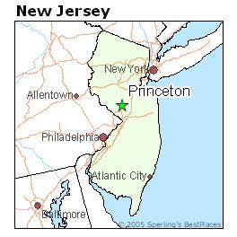 princeton-map